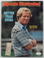 Jack Nicklaus Signed 1978 Sports Illustrated Magazine (JSA COA) at PristineAuction.com