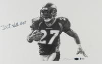 Darrent Williams Signed Broncos 11x17 Lithograph (Beckett COA) at PristineAuction.com