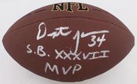 "Dexter Jackson Signed NFL Football Inscribed ""S.B. XXXVII MVP"" (JSA COA) at PristineAuction.com"