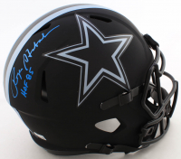 "Roger Staubach Signed Cowboys Full-Size Eclipse Alternate Speed Helmet Inscribed ""HOF 85"" (Beckett Hologram) at PristineAuction.com"