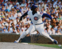 """Lee Smith Signed Cubs 16x20 Photo Inscribed """"478 Saves"""" (Beckett COA) at PristineAuction.com"""