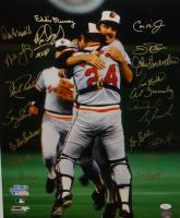 1983 World Series Champions 16x20 Photo Team-Signed by (20) with Cal Ripken Jr. Jim Palmer, Eddie Murray, Rick Dempsey (JSA COA) at PristineAuction.com