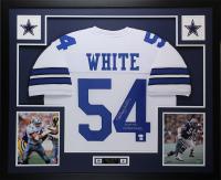 "Randy White Signed 35x43 Custom Framed Jersey Inscribed ""HOF 94"" & ""Co MVP SB XII"" (JSA COA) at PristineAuction.com"