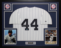 Reggie Jackson Signed Yankees 35x43 Custom Framed Jersey (TriStar Hologram) at PristineAuction.com