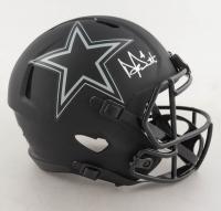 Dak Prescott Signed Cowboys Full-Size Eclipse Alternate Speed Helmet (Beckett COA & Prescott Hologram) (See Description) at PristineAuction.com