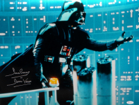 "David Prowse Signed ""Star Wars: The Empire Strikes Back"" 16x20 Photo Inscribed ""Is Darth Vader"" (JSA COA) at PristineAuction.com"