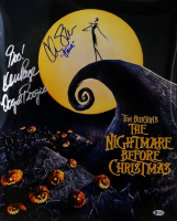 "Chris Sarandon & Ken Page Signed ""The Nightmare Before Christmas"" 16x20 Photo Inscribed ""Jack"" & ""Oogie Boogie"" (Beckett COA) at PristineAuction.com"