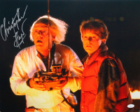 """Christopher Lloyd Signed """"Back to the Future"""" 16x20 Photo (JSA COA) at PristineAuction.com"""