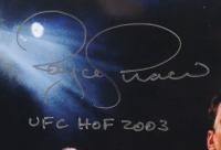 "Royce Gracie Signed UFC 11x14 Photo Inscribed ""UFC HOF 2003"" (PA COA) at PristineAuction.com"