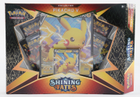 Pokemon TCG: Shining Fates PIKACHU V Box with (4) Booster Packs (See Description) at PristineAuction.com