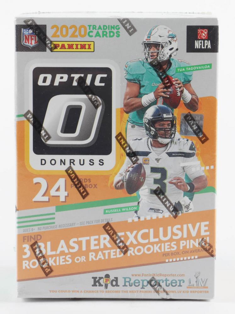 2020 Panini Donruss Optic Football Blaster Box with (6) Packs at PristineAuction.com