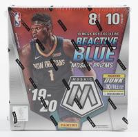 2019-20 Panini Mosaic Basketball Mega Box with (10) Packs (See Description) at PristineAuction.com