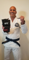 "Royce Gracie Signed UFC Glove Inscribed ""UFC 1, 2, & 4 Champ"" (PA COA) at PristineAuction.com"