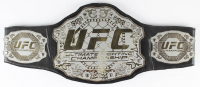 "Royce Gracie Signed Full-Size UFC #1 Championship Belt Inscribed ""HOF 03"" & ""UFC 1, 2, & 4 Champ"" (PA COA) at PristineAuction.com"