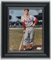 Stan Musial Signed Cardinals 11x13 Custom Framed Photo Display (JSA Hologram) at PristineAuction.com