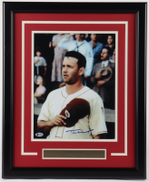 """Tom Hanks Signed """"A League of Their Own"""" 18.5x22.5 Custom Framed Photo Display (Beckett COA) (See Description) at PristineAuction.com"""