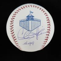 "Charlie Sheen ""Major League"" California Penal League Baseball (MAB Hologram) at PristineAuction.com"