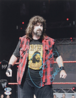 Mick Foley Signed WWE 11x14 Photo (Beckett COA & PSA Hologram) at PristineAuction.com