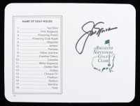 Jack Nicklaus Signed Augusta Masters Scorecard (JSA COA) at PristineAuction.com