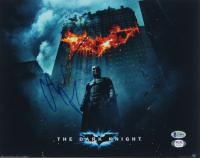 "Christian Bale Signed ""The Dark Knight Rises"" 11x14 Photo (Beckett COA & PSA Hologram) at PristineAuction.com"