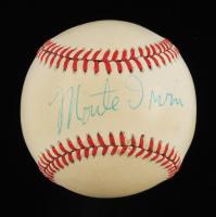 Monte Irvin Signed ONL Baseball (Beckett COA) (See Description) at PristineAuction.com