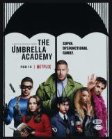 "Justin Min Signed ""Umbrella Academy"" 11x14 Photo (Beckett COA & PSA Hologram) at PristineAuction.com"