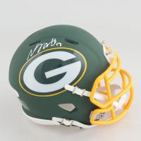 Davante Adams Signed Packers AMP Alternate Speed Mini-Helmet (JSA COA) at PristineAuction.com
