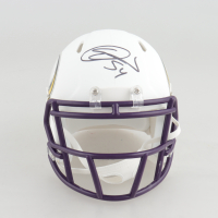 Eric Kendricks Signed Vikings Matte White Speed Mini Helmet (Beckett COA) at PristineAuction.com