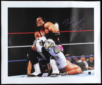 "Bret ""Hitman"" Hart Signed WWE 19x23 Print on Canvas (COJO COA) at PristineAuction.com"