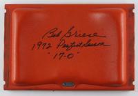 "Bob Griese Signed Orange Bowl Game-Used Stadium Seat #25 Inscribed ""1972 Perfect Season"" & ""17-0"" (JSA COA & MAB Hologram) (See Description)) at PristineAuction.com"