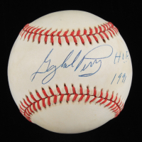 """Gaylord Perry Signed ONL Baseball Inscribed """"H.O.F. 1991"""" (Beckett COA) (See Description) at PristineAuction.com"""