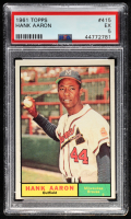 Hank Aaron 1961 Topps #415 (PSA 5) at PristineAuction.com