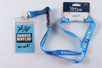 """Kate Flannery Signed """"The Office"""" Michael Scott's Fun Run Race For The Cure Lanyard Inscribed """"Meredith"""" (PSA COA) at PristineAuction.com"""