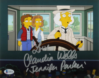 """Claudia Wells Signed """"The Simpsons"""" 8x10 Photo Inscribed """"Love"""" & """"Jennifer Parker"""" (Beckett COA) at PristineAuction.com"""