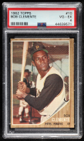 Roberto Clemente 1962 Topps #10 (PSA 4) at PristineAuction.com