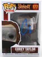 "Corey Taylor Signed ""Slipknot"" #177 Corey Taylor Funko Pop! Vinyl Figure (Beckett COA) at PristineAuction.com"