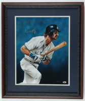 Don Mattingly Signed Yankees 17x20 Custom Framed Canvas Display (Schulte Sports Hologram) (See Description) at PristineAuction.com