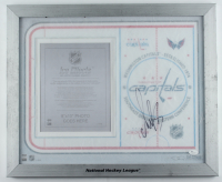 Alexander Ovechkin Signed Capitals 18x22 Custom Framed Plexiglass Display (JSA COA) at PristineAuction.com