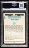 Ozzie Smith Signed 1982 Donruss #21 DK (PSA Encapsulated) at PristineAuction.com