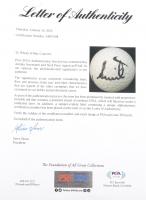 Nick Price & Annika Sorenstram Signed Golf Ball (PSA LOA) at PristineAuction.com