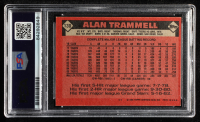 Alan Trammell Signed 1986 Topps #130 (PSA Encapsulated) at PristineAuction.com
