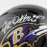 J.K. Dobbins Signed Ravens Full-Size Speed Helmet (JSA COA & Dobbins Hologram) at PristineAuction.com