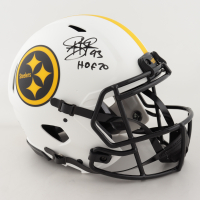 "Troy Polamalu Signed Steelers Lunar Eclipse Alternate Authentic On-Field Speed Helmet Inscribed ""HOF 20"" (Beckett COA) at PristineAuction.com"