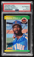 Mookie Wilson Signed 1989 Donruss #152 (PSA Encapsulated) at PristineAuction.com