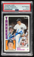 Goose Gossage Signed 1984 Topps #670 (PSA Encapsulated) at PristineAuction.com
