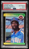 Mookie Wilson Signed 1989 Donruss #152 (PSA Encapsulated) at PristineAuction.com