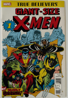 "Stan Lee Signed 2017 ""True Believers: Giant-Size X-Men"" Issue #1 Marvel Comic Book (Lee COA) at PristineAuction.com"