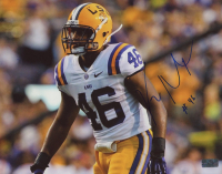 Kevin Minter Signed LSU Tigers 8x10 Photo (Palm Beach COA) at PristineAuction.com