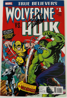 "Stan Lee Signed 2017 ""True Believers: Wolverine vs. Hulk"" Issue #1 Marvel Comic Book (Lee COA) at PristineAuction.com"