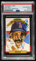 Jim Rice Signed 1985 Donruss #15 DK (PSA Encapsulated) at PristineAuction.com